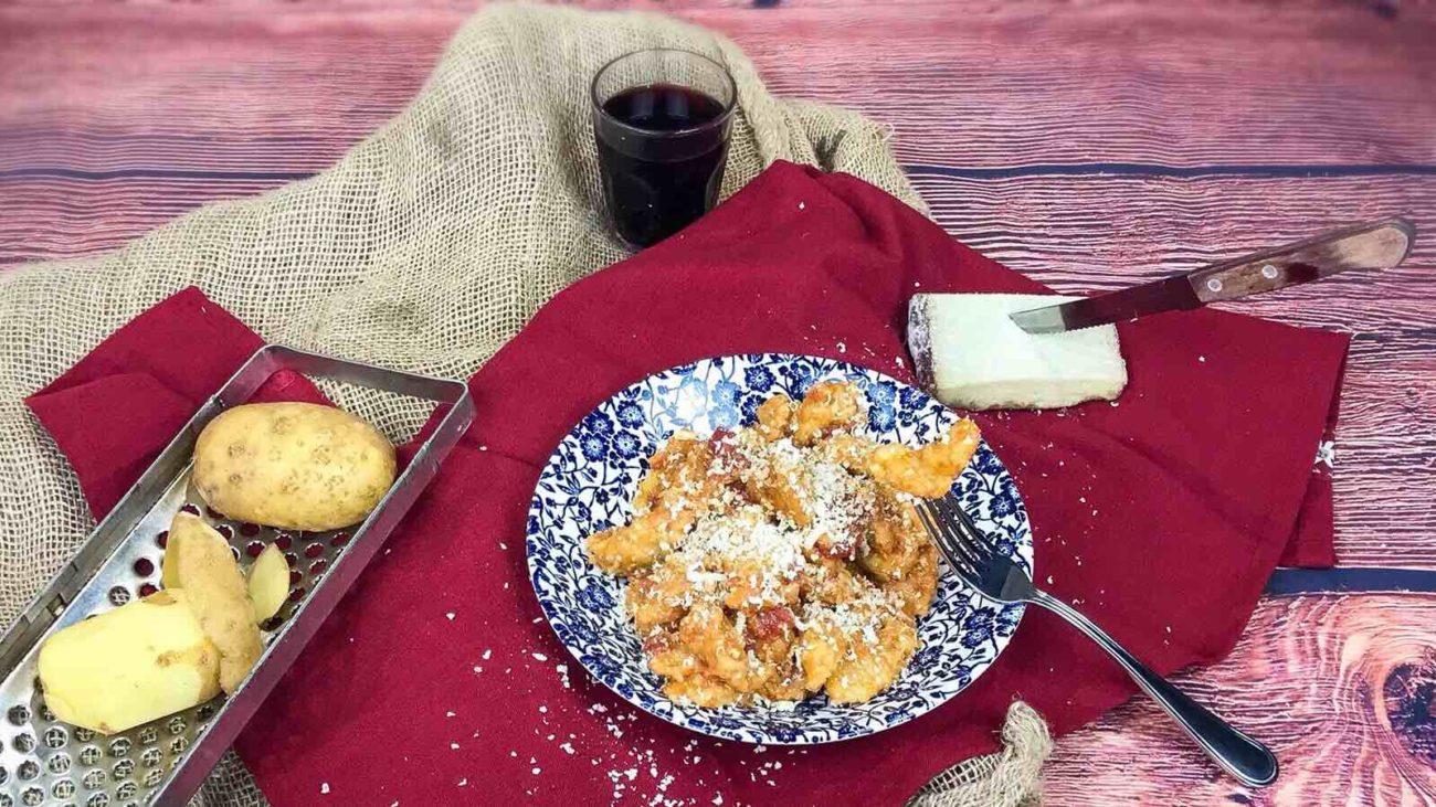 Gnocchi di patate crude – Gnochi de patate crue