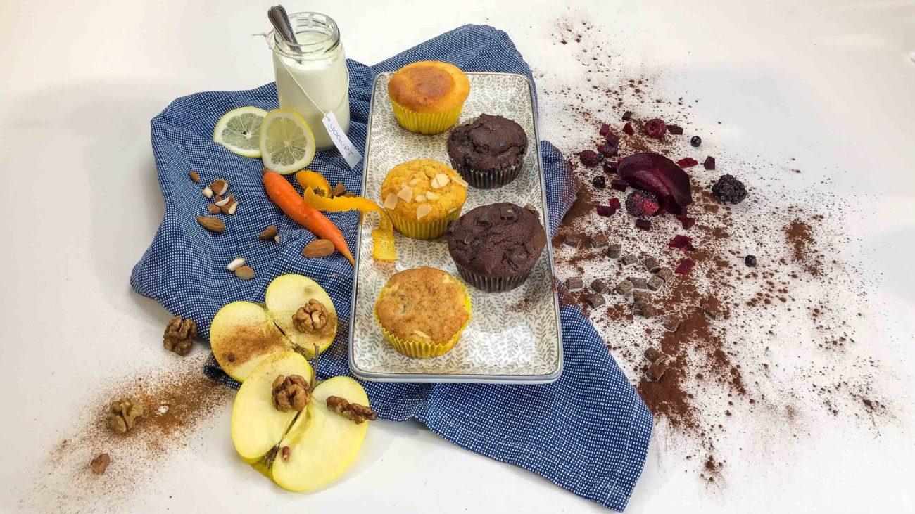 5 ricette di muffin con 1 solo impasto