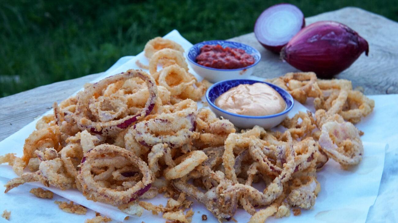 Onion Rings: anelli di cipolla croccanti e non unti