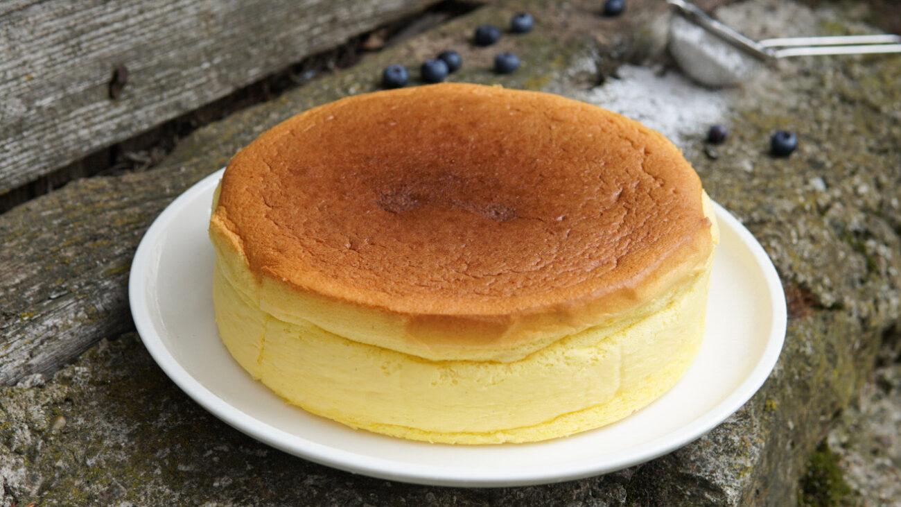 CHEESECAKE GIAPPONESE (cheesecake cotone)